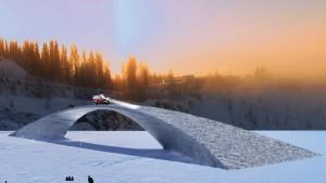 Ледяной мост Леонардо да Винчи