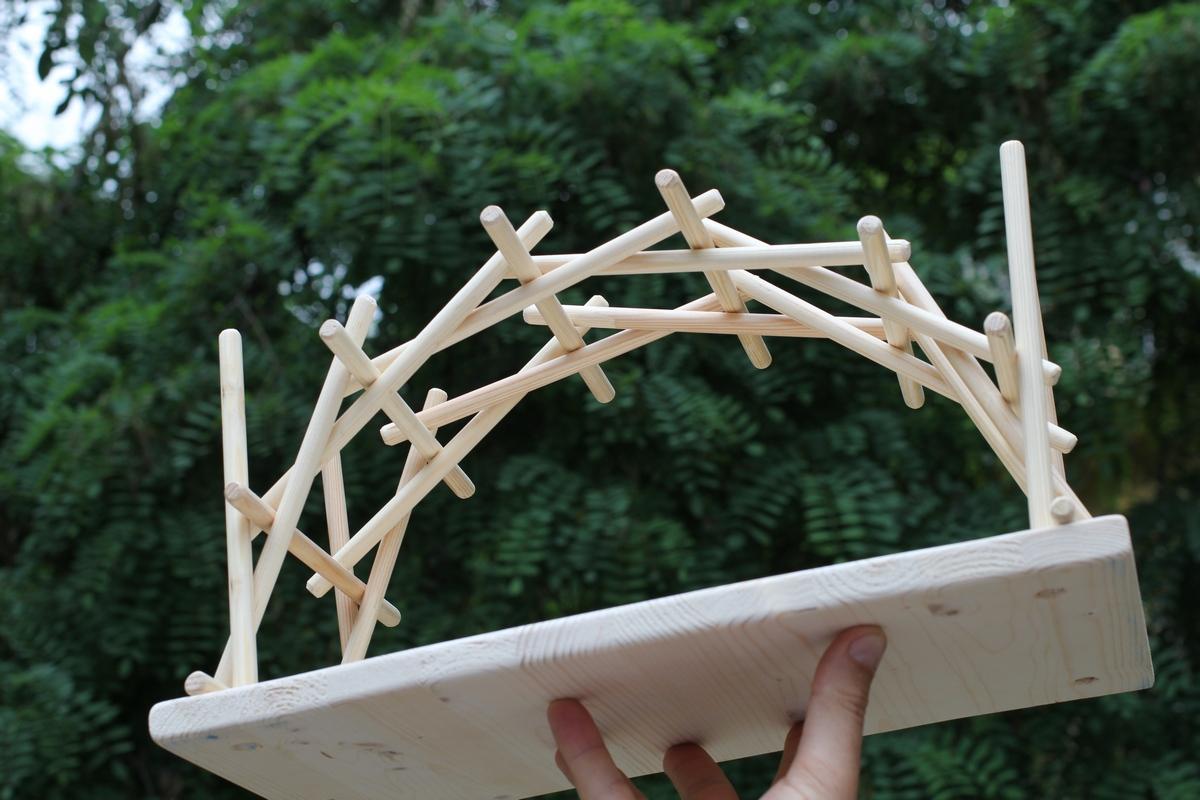 Мост да винчи своими руками